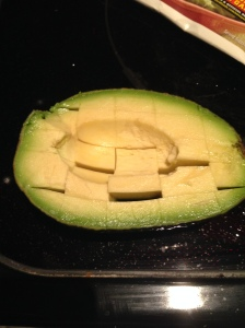 Avocado slicing