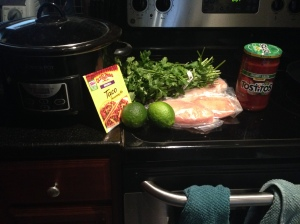 Chicken Tacos ingredients