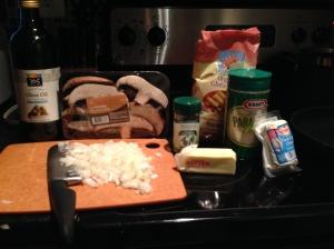 Ziti ingredients 2